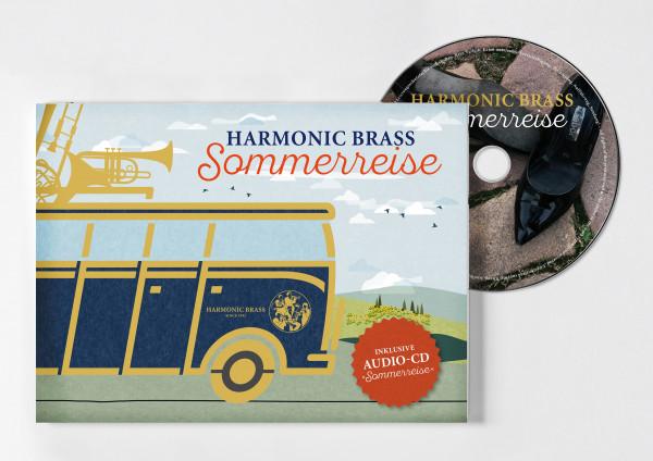 Sommerreise Roadbook und CD
