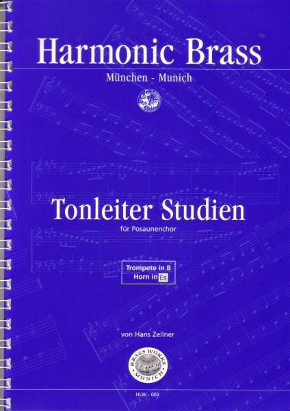 Tonleiterstudien für Posaunenchor