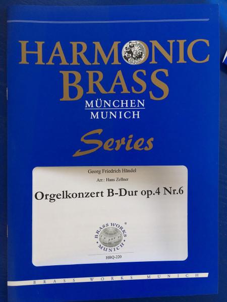 Orgel Konzert B-Dur op.4 von G.F.Händel