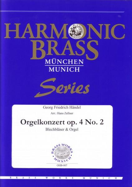 Orgelkonzert in B-Dur Op. 4 Nr. 2
