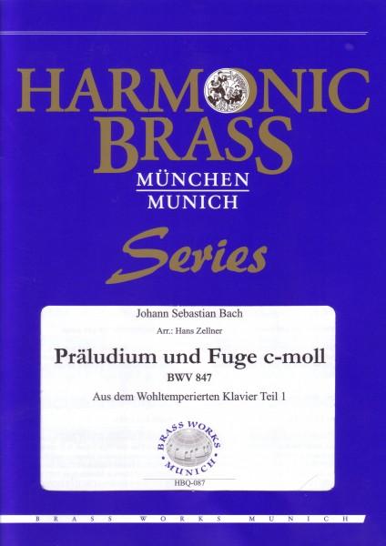 Präludium und Fuge c-moll (aus dem wohltemperierten Klavier; BWV 847)