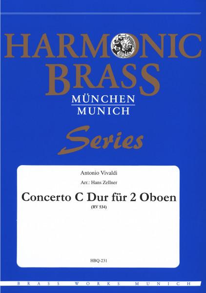 Concerto C-Dur für 2 Oboen
