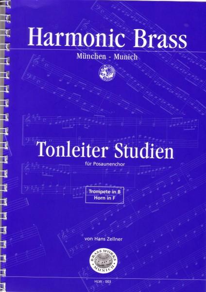 Tonleiterstudien für Posaunenchor Ausgabe für Trp in B, Hn in F