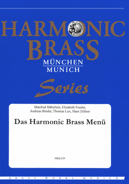 Das Harmonic Brass Menü
